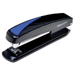 Office Depot Stapler Blue Black Metal Full Strip Up to 20 Sheets