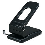 Office Depot Heavy Duty Metal Two Hole Punch Up to 65 Sheet Capacity