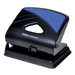 Office Depot Metal Two Hole Punch Up to 30 Sheet capacity