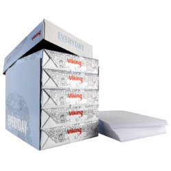 Viking Economy Printer Paper  A4 White 80gsm  5 Ream Box