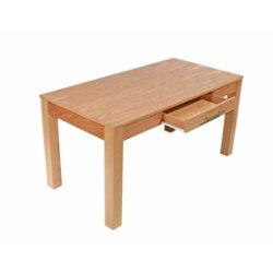 Oakwood oak veneer office desk ? 1500mm
