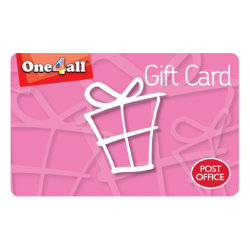 One4all Pink Gift Card -