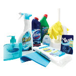 Bathroom Cleaning Set