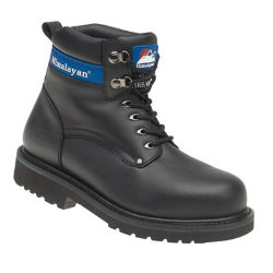 Briggs Himalayan Goodyear Welted Safety Boot Black Size 9