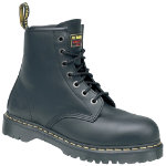 Dr Martens Safety Boots Leather Size 11 Black Pair