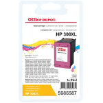 Office Depot compatible HP300XL Hi yield colour ink cartridge