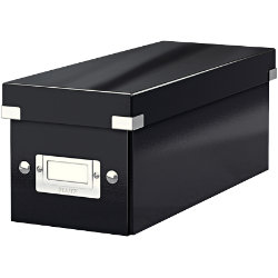 LEITZ Click and Store CD Box Black