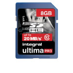 Ultimapro SDHC Class 10 Memory Card 8GB