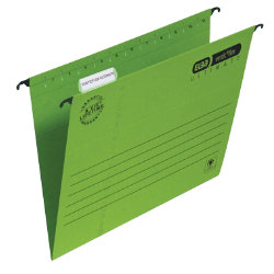 Elba Vertic Flex Ultimate Suspension File Foolscap Green Pack of 25