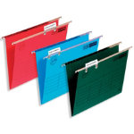 ELBA Suspension File Foolscap Blue Manilla