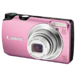 Canon Powershot A3200 IS Digital Camera Pink