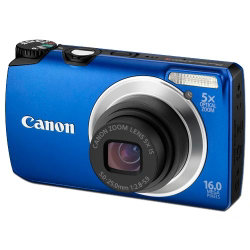 Canon Powershot A3300 Is Digital Camera - Blue