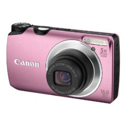Canon Powershot A3300 Is Digital Camera - Pink