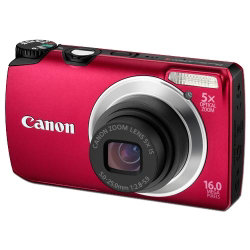 Canon Powershot A3300 Is Digital Camera - Red