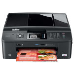 Brother MFC J625DW Wireless Colour All in One Inkjet Printer