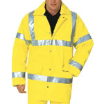 Alexandra Hi vis all weather anorak size XXXL