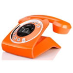 Sagemcom Sixty Digital Cordless Telephone with Answer Machine Orange