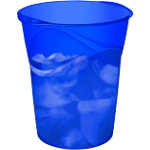 Cep Happy Waste bin 14L   Electric Blue