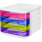 Cep Happy 4 Drawer Unit Multicolor