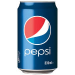 Pepsi can 24 pieces of 330 ml
