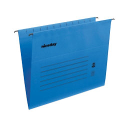 Niceday Flex Suspension File Foolscap Blue Box 25