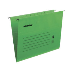 Niceday Flex Suspension File Foolscap Green Box 25