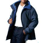 Alexandra Parka Fleece Blue Navy Linng size XXL