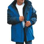 Alexandra Parka Fleece Blue Navy Linng size M