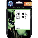 HP Ink Cartridge Original P2V31A Black Pack 2