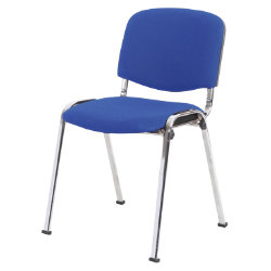 niceday conference chairs in blue fabric pack of 4
