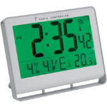 Alba Digital Clock Radio Controlled White