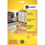 Avery Box Of 25 Recycled Short Filing Labels For Wide Files 4 Labels Per Sheet