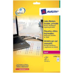 Avery Box Of 20 Large Cable Markers Laser Labels 10 Lables Per Sheet
