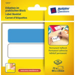 Avery Pack Of 25 Permanent Assorted Multiusage Handwrite Labels 3 Per Pad