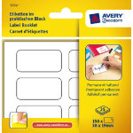 Avery Pack Of 25 Permanent White Multiusage Handwrite Labels 6 Per Pad