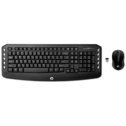 HP Wireless UK KeyboardMouse Set