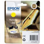 Epson T1624 Yellow Inkjet Cartridge