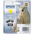 Epson 26 Original Yellow Ink Cartridge C13T26144010
