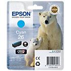 Epson T261240 cyan inkjet cartridge