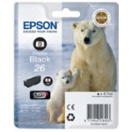 Epson 26 Original Photo Black Ink Cartridge C13T26114010
