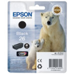 Epson T260140 black inkjet cartridge