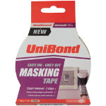 Unibond Masking Tape 25mm x 25m Easy on Easy Off