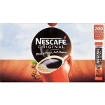 Nescafe Original instant coffee stickpack 200 sachets