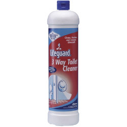 Diversey Lifeguard 3 Way Toilet Cleaner 1ltr