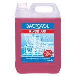 Diversey Bactosol Hand Glass Wash Detergent Rinse Aid 5ltr