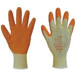 Polyco Gloves Latex Size L Orange Pair