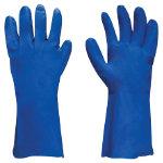 Polyco Gloves Gauntlet nitrile size xl Blue