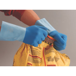 Polyco Taskmaster Latex Gauntlet Glove Size 9  Large