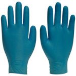Polyco Finite Nitrile Powder Free Disposable Gloves Size 75 Medium