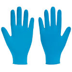 Polyco Bodyguards 4 Nitrile Powdered Disposable Gloves Blue Size 85 Large